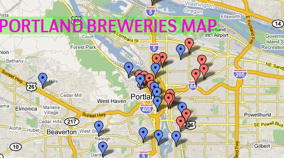 Beer Utopia List And Map Of Portland Breweries Beer